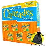 Family Charades: In-A-Box Compendium with free storage bag by Outset Media