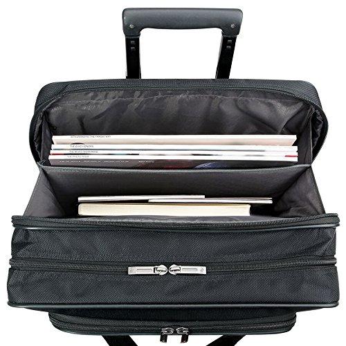Solo Carnegie 15.6 Inch Rolling Laptop Case, Black by SOLO (Image #2)