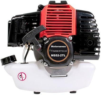 TIMBERTECH - Desbrozadora de 52ccm (Potencia del Motor 2, 2 Kw ...