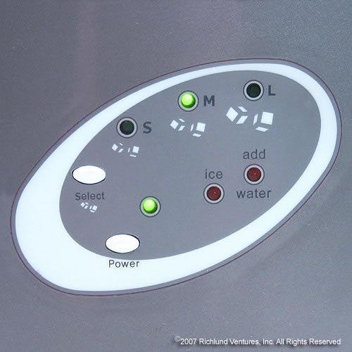 Samsung Countertop Ice Maker : ... Ice Makers Edgestar IP210TI Titanium Portable Ice Maker, Gray
