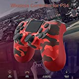 PS4 Controller Wireless Bluetooth Gamepad, with
