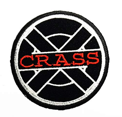 Art Punk Art Collective and Punk Rock Band Anarcho Punk Music Band Logo Patch Applique for Clothes Great as Happy Birthday Gift (Best Anarcho Punk Bands)
