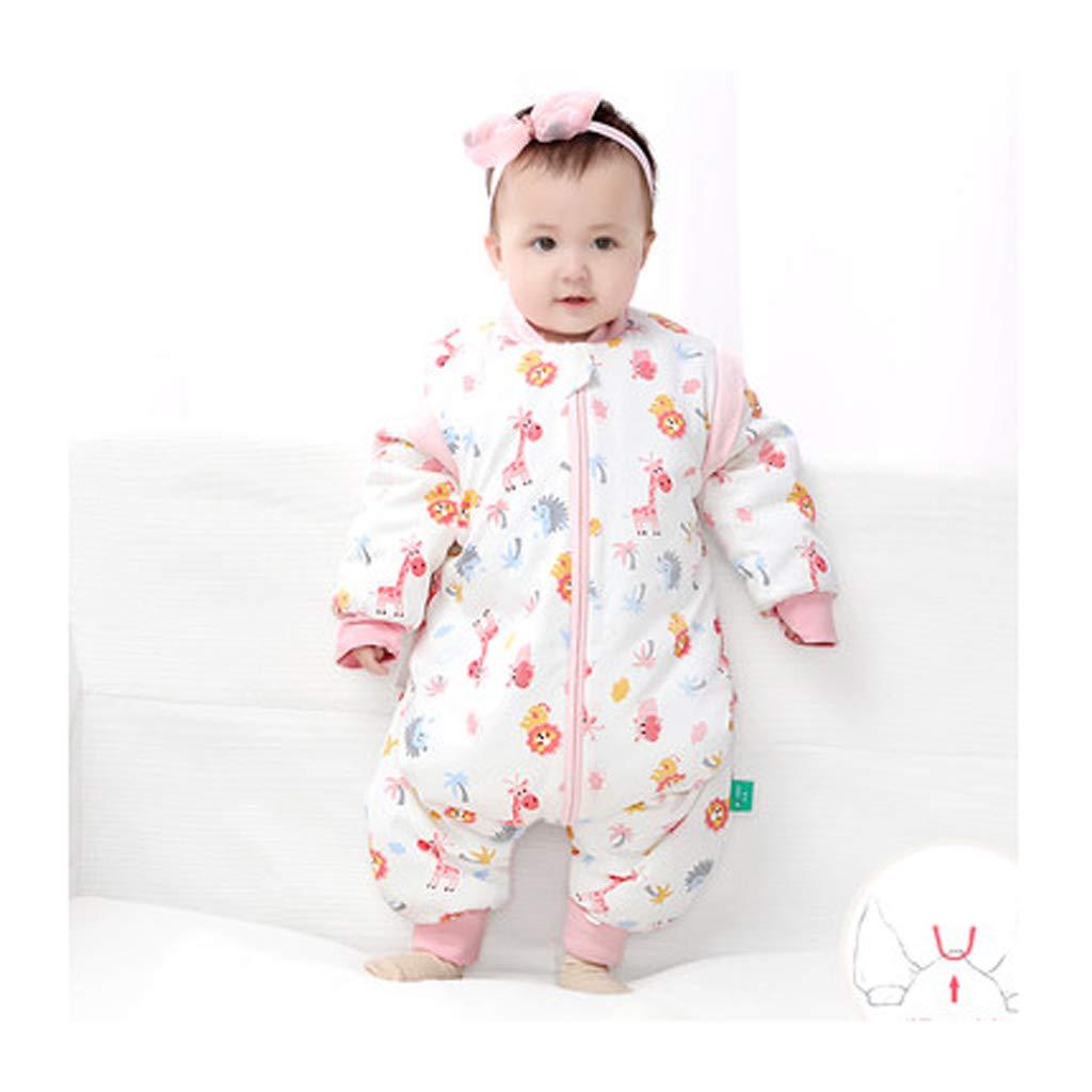 soporte minorista mayorista Wolaoma Saco Saco Saco de Dormir de algodón para bebés Saco de Dormir de Cuatro Temporadas para niños Saco de Dormir Anti-Patada (Color : A, Tamaño : S)  compras de moda online
