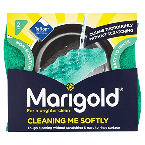 Marigold Cleaning Me Softly Non Scratch Scourer 2 per pack