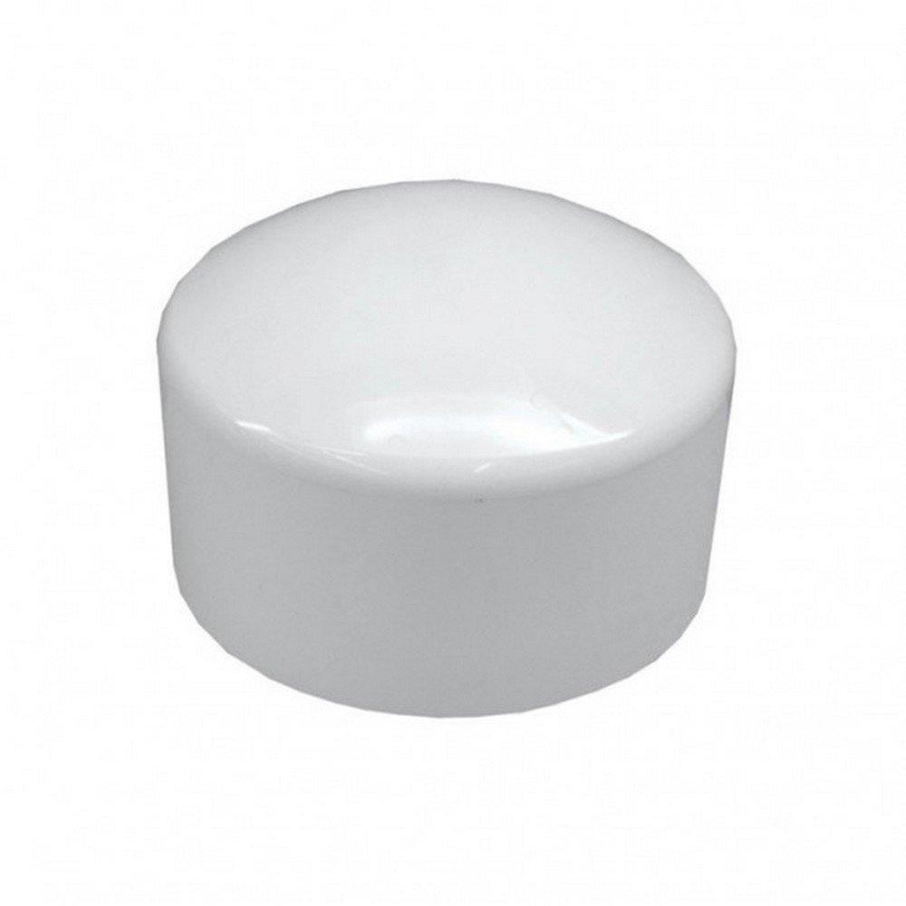 Slip 8 in 40 Cap PVC