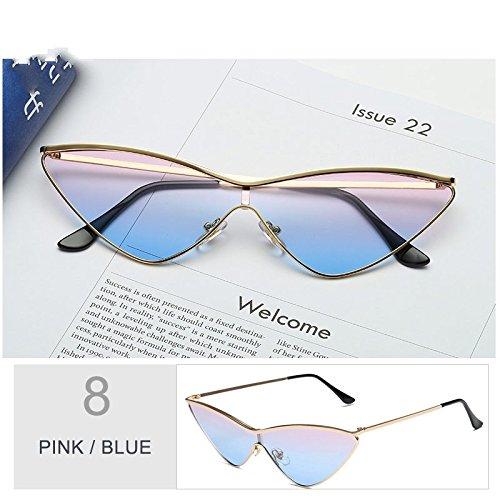 Rossi Blue Gafas Pink Mujeres De Gafas Ojo De De Pequeñas Black De Oro La Gafas Sol Lord Sol De De TIANLIANG04 Mujer Gato Para Cute Rosa OqFwx4Fp