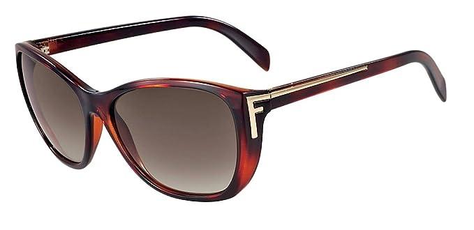 Amazon.com: Fendi anteojos de sol & Free Caso FS 5219 214 ...