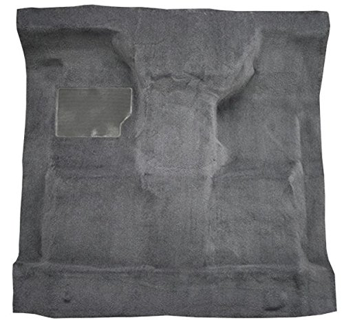 1999 to 2007 Ford Standard Cab Pickup Truck Carpet Custom Molded Replacement Kit, F250 Super Duty, F350, F450, F550, Automatic (801-Black Plush Cut (F250 Carpet)