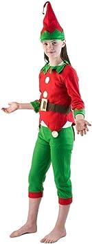 Bodysocks Fancy Dress Disfraz de Elfo Pequeño Ayudante de ...