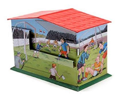 CAPRILO Hucha Infantil Decorativa de Hojalata Hucha Futbol ...