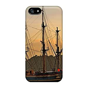 Hot Tpu Cover Case For Iphone/ 5/5s Case Cover Skin - Hms Bounty
