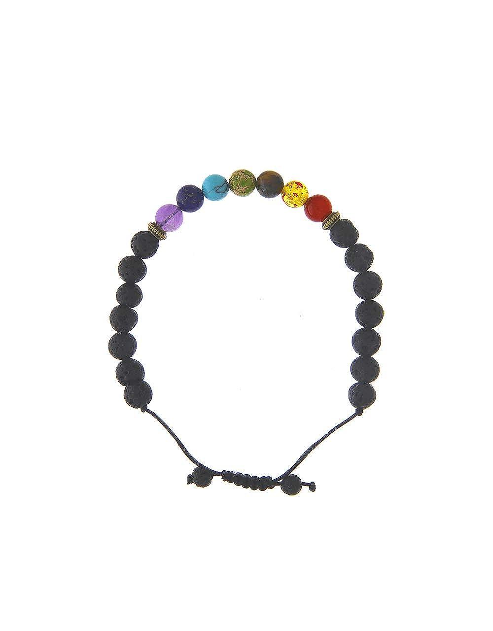 Anuradha Art Multi Colour Beads Styled Designer Hand Crystal Beads Bracelets for Women//Girls