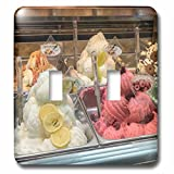 Danita Delimont - Food - Spain, Barcelona, gelato - Light Switch Covers - double toggle switch (lsp_227939_2)