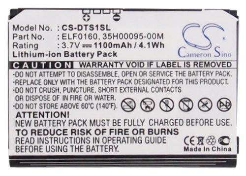 (Cameron Sino 1100mAh Li-ion High-Capacity Replacement Batteries for HTC Touch / P3050 / P3450 / P3452 / Elf / Vogue 100 / Elfin / Elfin 100 / VX6900 / Elf)