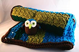 Crochet Pattern, baby blanket and amigurumi owl soft toy (Baby Blankets Book 1) by [Mendoza, Luz]