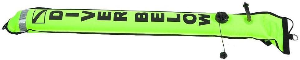 Gute Dichtleistung 4FT High Visibility Inflatable Scuba Diving SMB Oberfl/ächen-Signalmarkierer D-Ring-Bojen-Zubeh/ör aus Edelstahl 316 Focket Tauchmarkierer