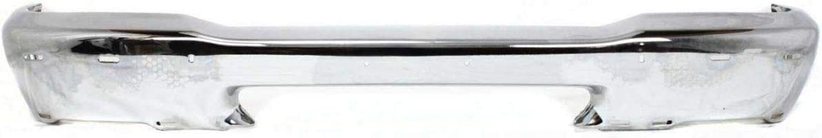 Front Bumper For 1998-2000 Ford Ranger w// Pad Holes Chrome Styleside