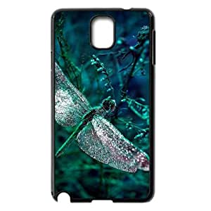 T-TGL(RQ) Samsung Galaxy Note 3 N9000 Personalized Phone Case Dragonfly with Hard Shell Protection