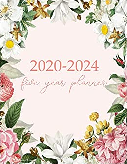 Amazon.com: 2020-2024 Five Year Planner: Monthly Logbook and ...