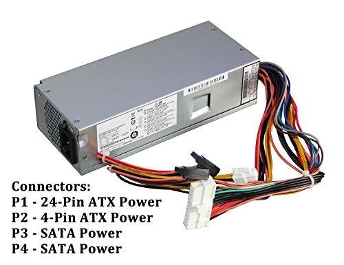 633195-001 220W Power Supply Unit PSU for HP Pavilion Slimline S5 S5-1xxx TouchSmart 310-1205la Desktop PC, FH-ZD221MGR PS-6221-9 by IMSurQltyPrise (Image #1)