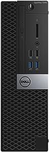 Dell PJPFH OptiPlex 7040 Small Form Factor Desktop with Intel Core i5-6500, 8GB RAM, 128GB SSD, Black
