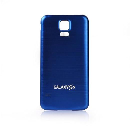 9 opinioni per COLJOY Coperchio della batteria in alluminio spazzolato per il Samsung Galaxy S5