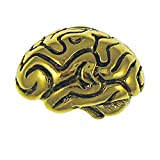Brain Gold Lapel Pin - 75 Count