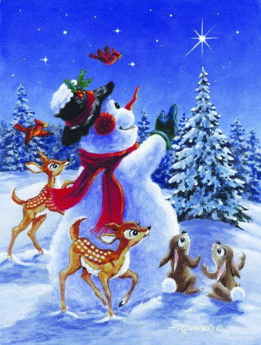 Star of Wonder 300 pc Jigsaw Puzzle - Christmas Snowman Puzzle - by SunsOut