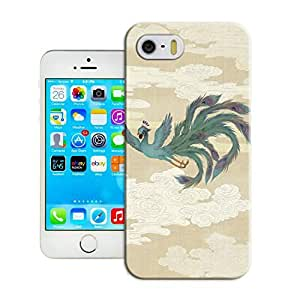 LarryToliver First Design Funny Beautiful Spirituality Animal Figure Printed Durable Plastic Customizable Spirituality Animal Figure iphone 5/5s Case