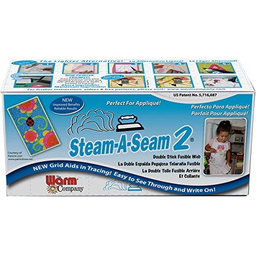 (Steam-A-Seam 2 Double Stick Fusible Web)