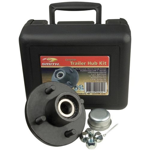 "1 - C.E. Smith Trailer Hub Kit Package 1-1/16"" Stud 4 x 4"