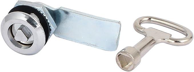 Cylinder Cupboard Locker Drawer Safe Cam Lock Camlock Security with 2 Keys