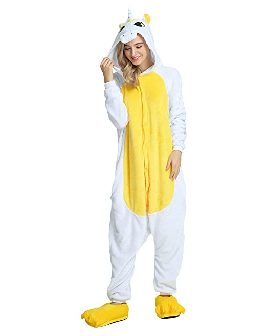 PIN - Pijama - Manga Larga - para mujer YelUnicorn Small