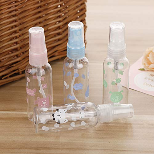 Huihuger Beauty 60ml Spray Bottle Portable Travel Bottles Makeup Tools for Women