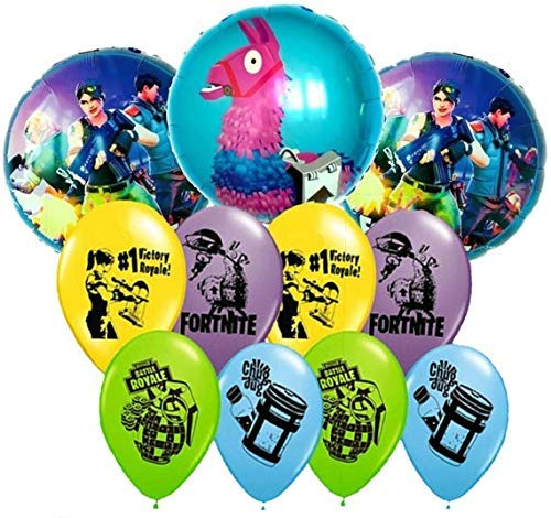 Image Unavailable Not Available For Color 11Pc Video Game Birthday Balloons Bouquet