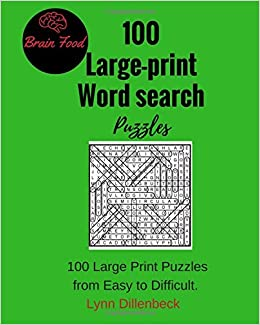 100 Large-print Word Search Puzzles Paperback – Large Print, 11 Sep ...