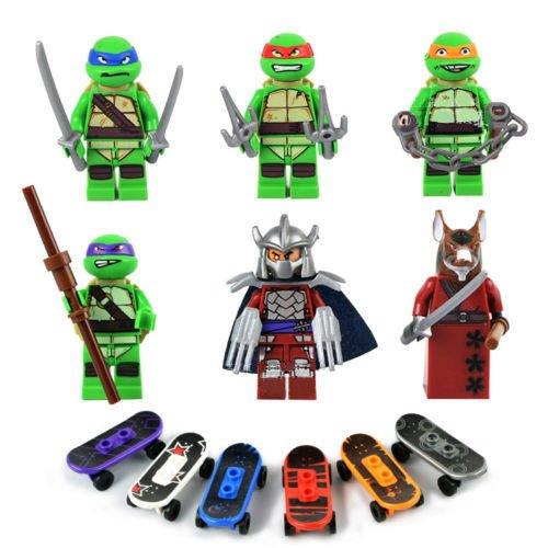 ninja turtles lego minifigures - 8