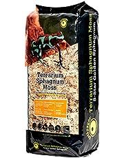 Galápagos (05203) Terrarium Sphagnum Moss, 5-Star Golden Sphagnum, Natural, 1/3 lb