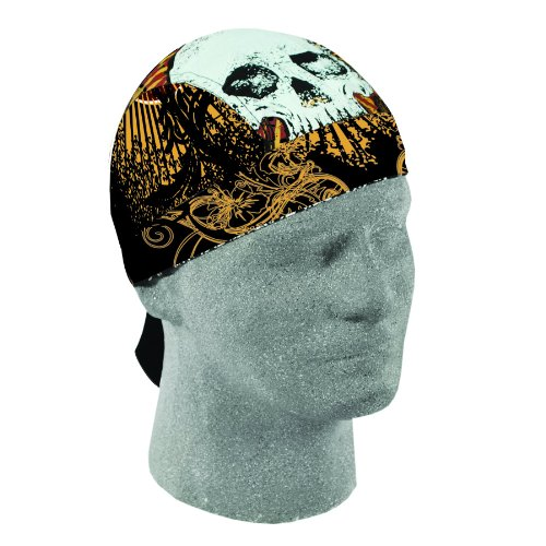 - ZANheadgear Fret Head Lethal Threat Road Hog Bandanna