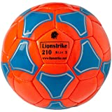 Leather Soccer Ball Size 3 - LIONSTRIKE Lightweight Soccer Ball for Children Youth Kids, Suitable for Girls Boys Aged 3, 4, 5, 6, 7 Years Old