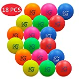 Macro Giant 11 Inch (Circumference) 3.5 Inch (Diameter) Foam Softball, Playground Ball, Set of 18, Multi-Color, Baseball Training Practice, Parenting Activity, Kid Toy Gifts, Birthday Gifts