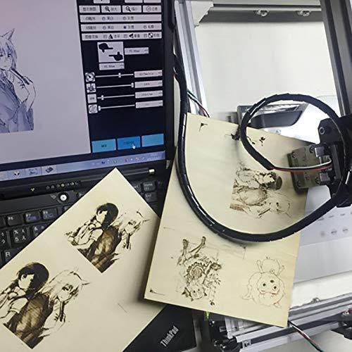 DIY M/áquina de grabado l/áser S1+15W M/áquina de grabado Router de madera Mini m/áquina de marcado Grabador avanzado