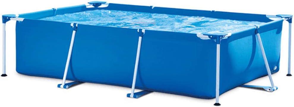 Yusea - Piscina hinchable para jardín con marco de jardín en la piscina al aire libre para niños y adultos fácil de instalar para patios traseros: Amazon.es: Hogar