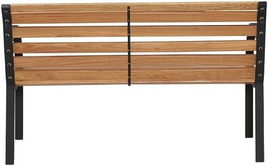 Siena Garden 104874 Menorca - Banco de tablas de madera de ley y ...