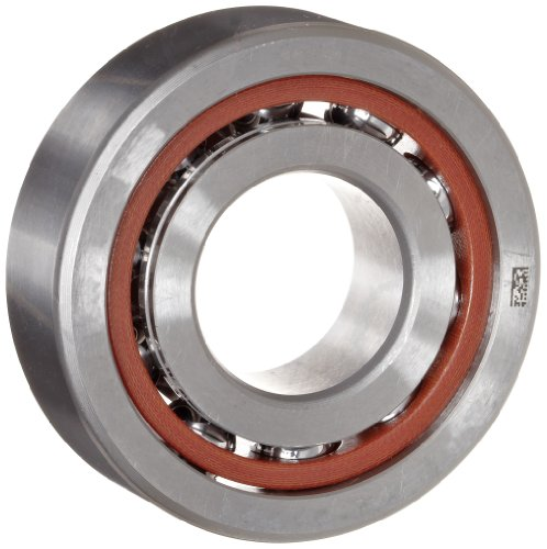 NSK 7208CTRDULP4Y Super Precision Angular Contact Bearing, 15° Contact Angle, Straight Bore, Open Enclosure, Phenolic Cage, Normal Clearance, 40mm Bore, 80mm OD, 0.709
