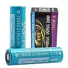18650 Battery Flat Top 3000mAh- 3100mAh, Shockli IMR 18650 High Drain 40A 3.7v