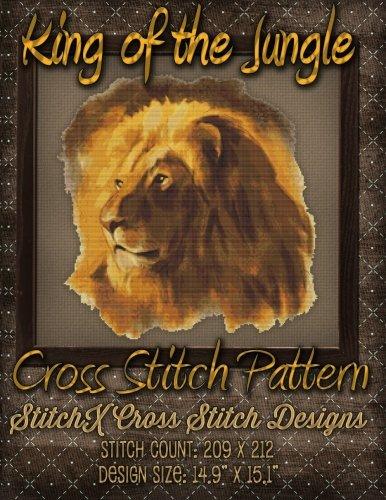 King of the Jungle Cross Stitch Pattern