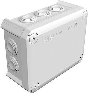Obo-bettermann T100 - Caja de derivación (150 x 116 x 67 mm): Amazon.es: Electrónica