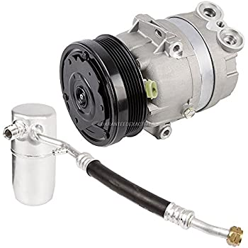 AC Compressor w/A/C Drier For Chevy Prizm 2000 2001 2002 - BuyAutoParts 60-86114R2 NEW