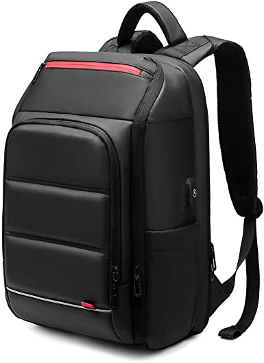 Multi-Function Pocket Travel Laptop Backpack Waterproof with USB Charging Port